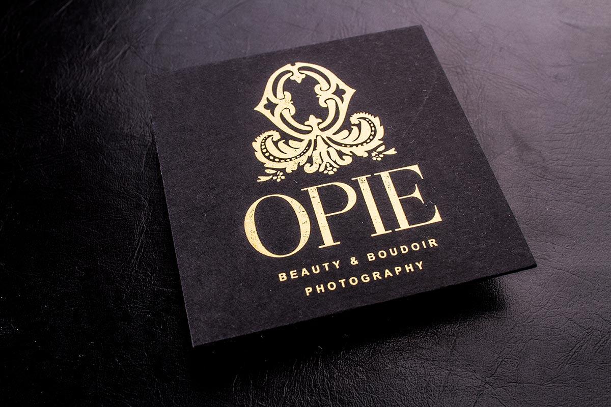 Luxury Business Cards Square | Luxury Printing