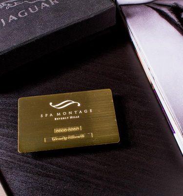 Gold Business Card Dubai Abu Dhabi | Luxury Printing