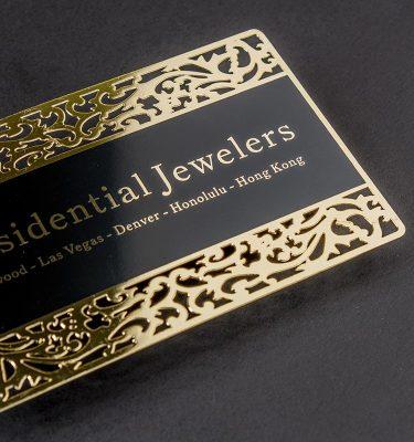 Gold Business Card Dubai | Luxury Printing