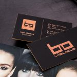 Hard Suede Business Cards 3.5x2 | Luxury Printing